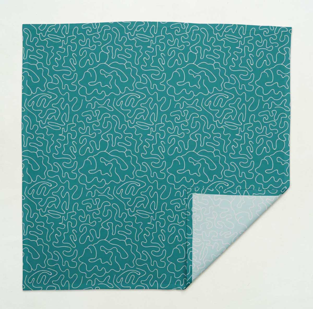 S4Sassy Text Parties Table Decor Linen Re-Usable Cloth Napkins Set-TX-528A