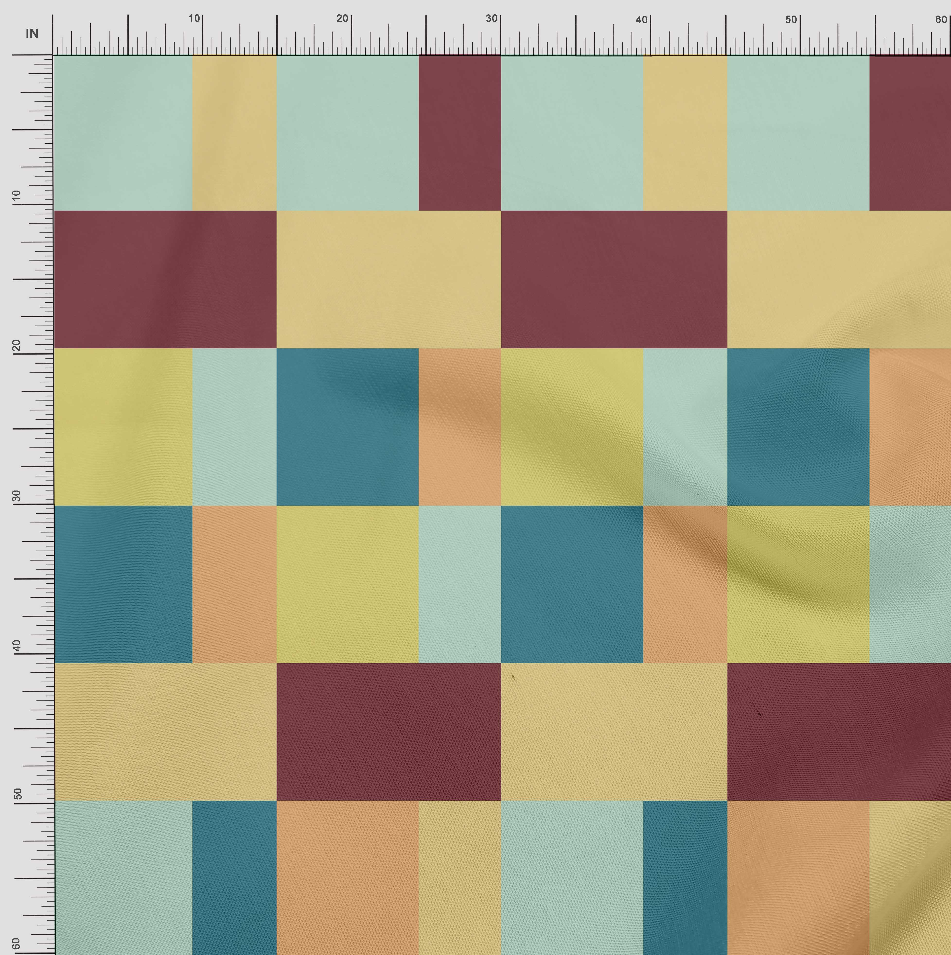 Soimoi-Cotton-Poplin-Fabric-Geometric-Panel-Print-Fabric-by-metre-uzp thumbnail 4