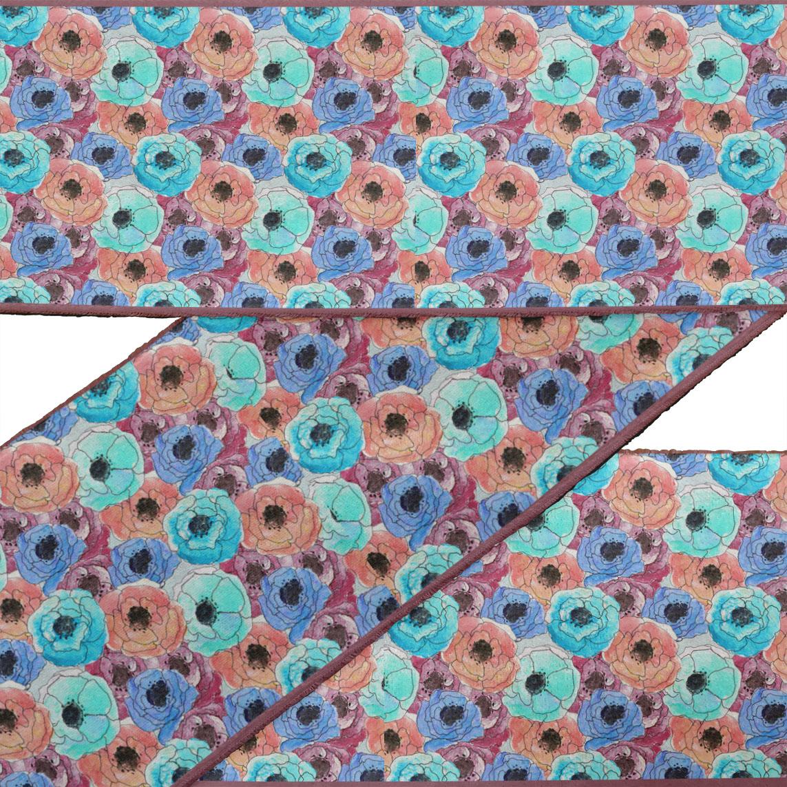 RibbonTrim Fabric Laces For Crafts Printed VelvetTrim9