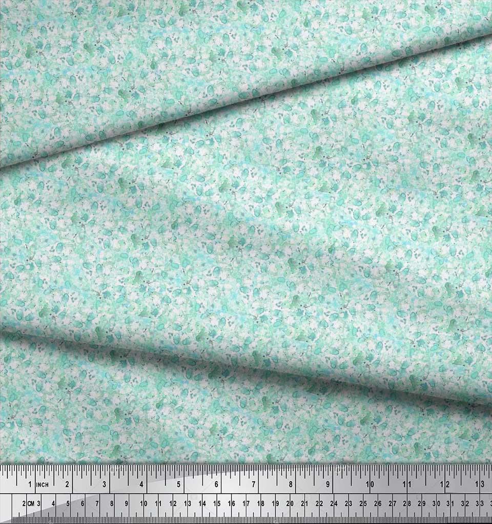 Soimoi-Cotton-Poplin-Fabric-Flower-Watercolor-Fabric-Prints-By-metre-Ydy thumbnail 3