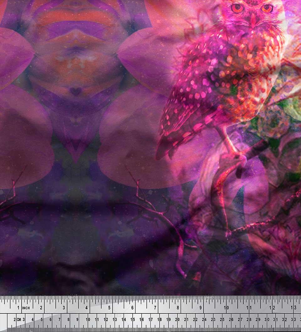 Soimoi-Cotton-Poplin-Fabric-Floral-amp-Panel-Printed-Craft-Fabric-Nux thumbnail 3