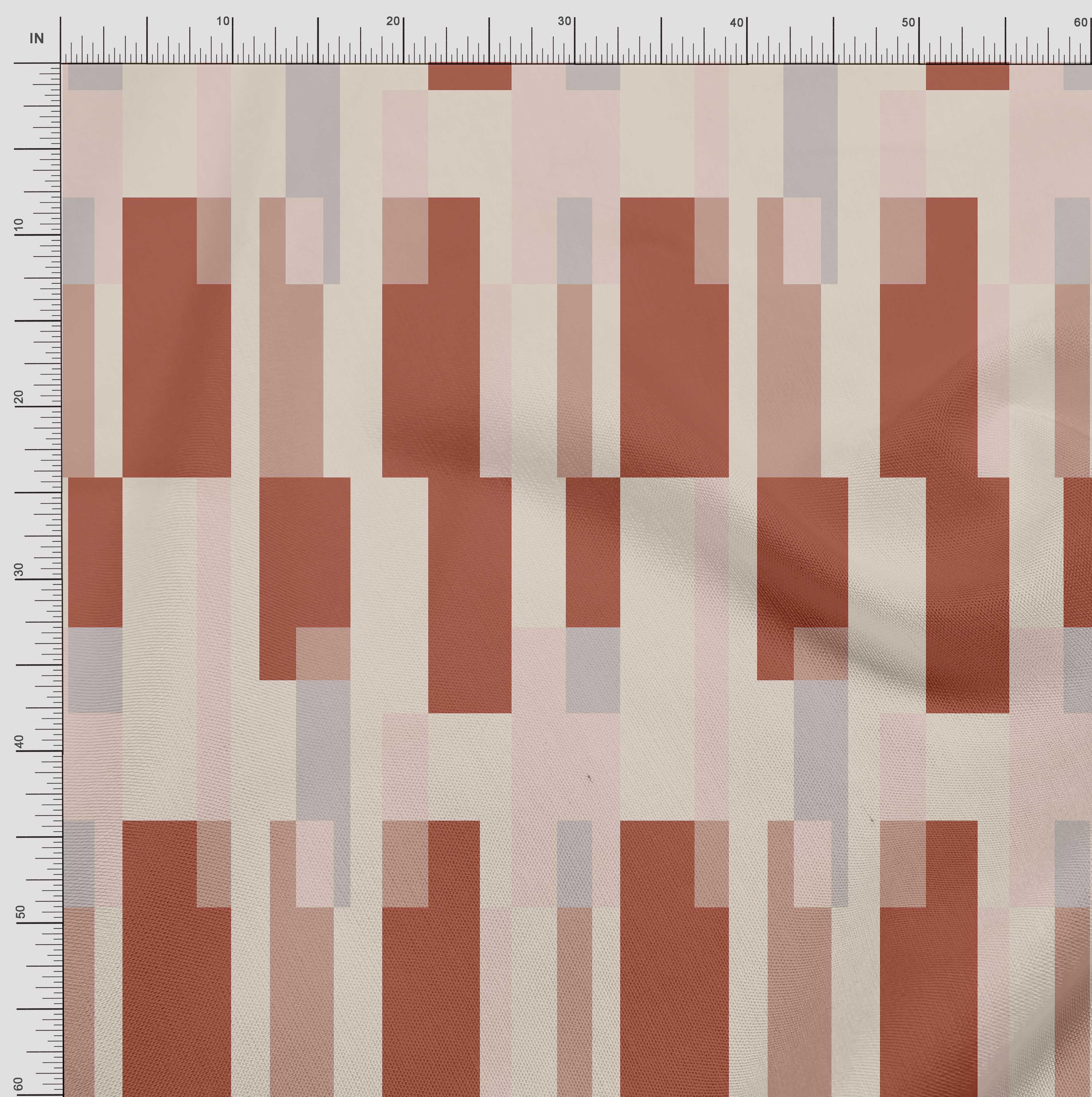 Soimoi-Cotton-Poplin-Fabric-Geometric-Panel-Decor-Fabric-Printed-zps thumbnail 4