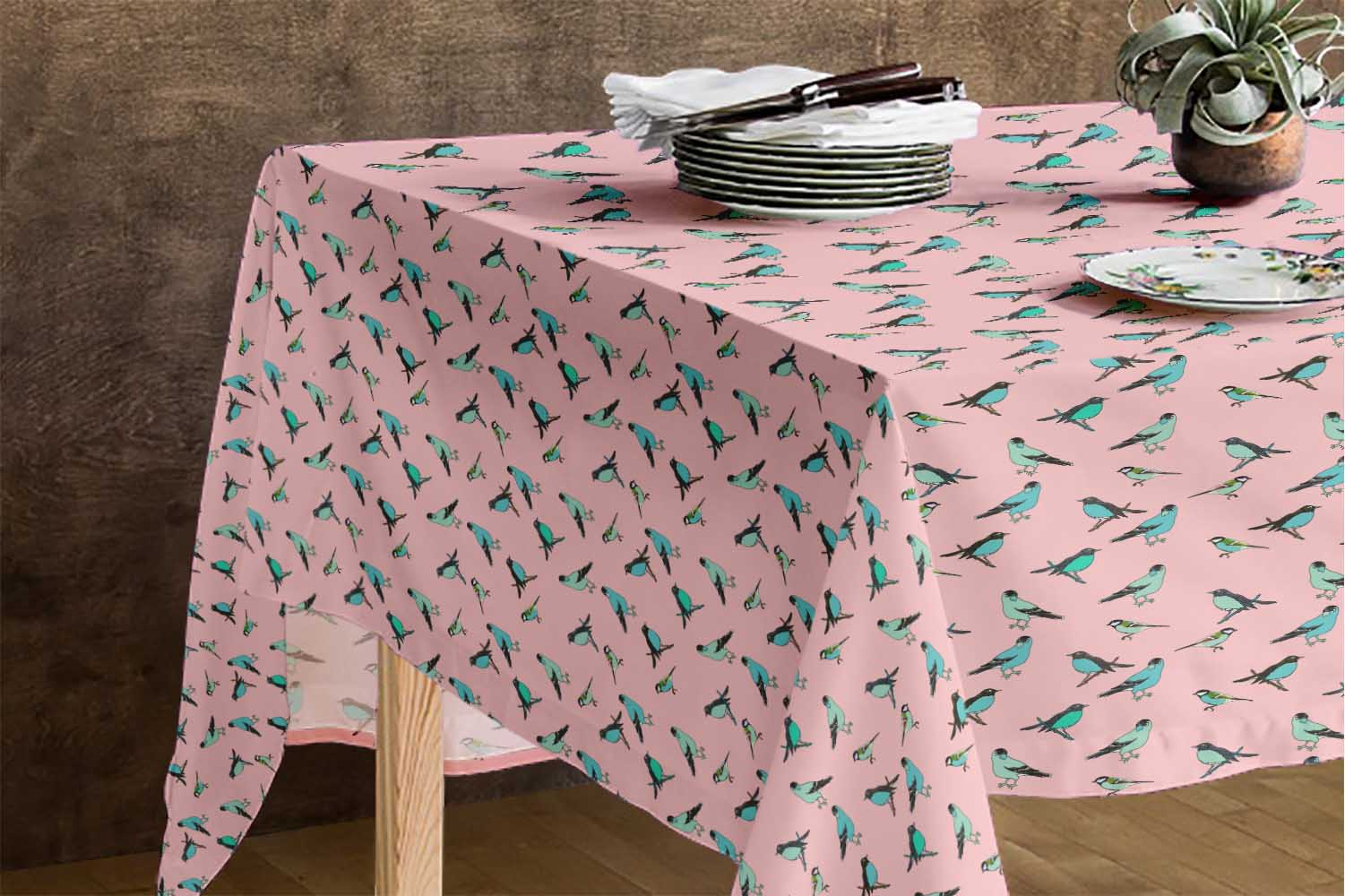 Artistic Outdoor Dining Table Cover