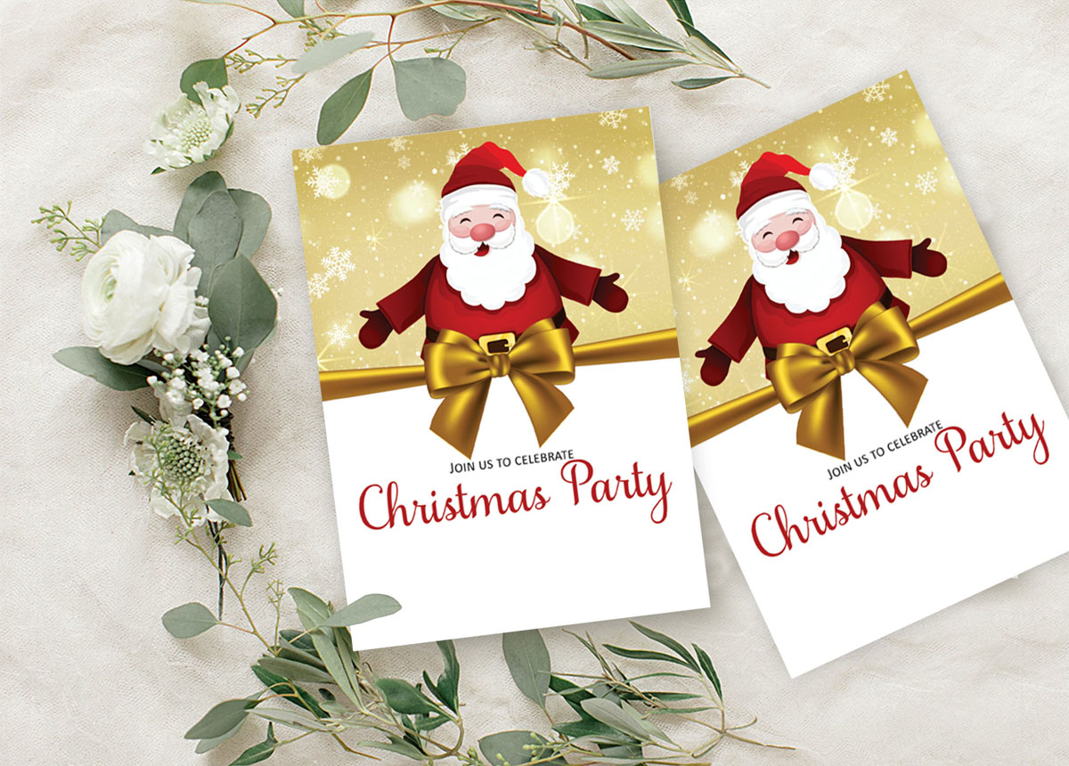 Details About Christmas Invitation Card 28 Pcs Fill Or Write In Blank Party Supplies Ds In486a
