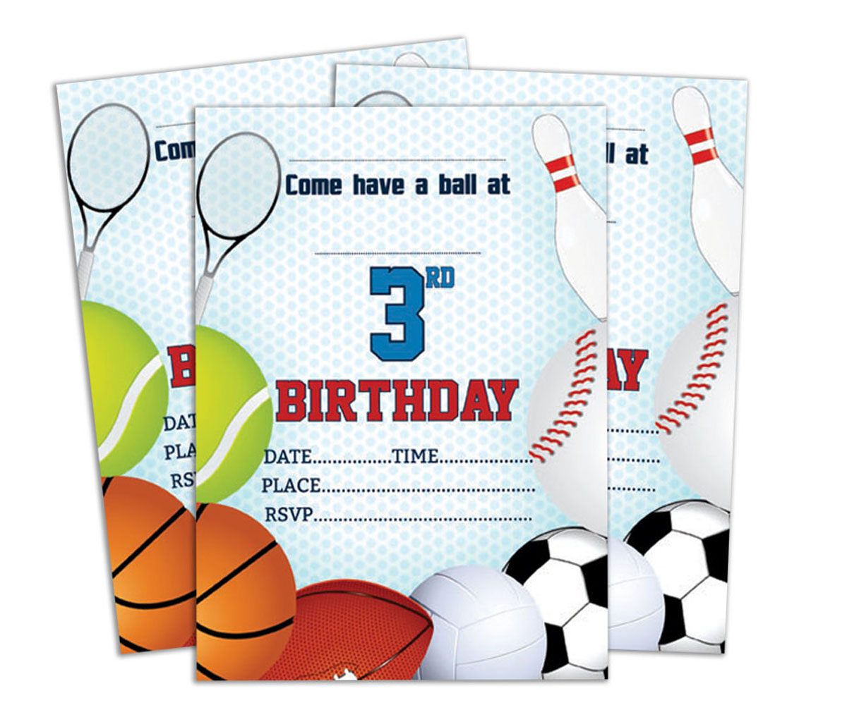 Details About Birthday Invitation Card Write Blank Invites Party Supplies Pack Of 28 Ds In112d