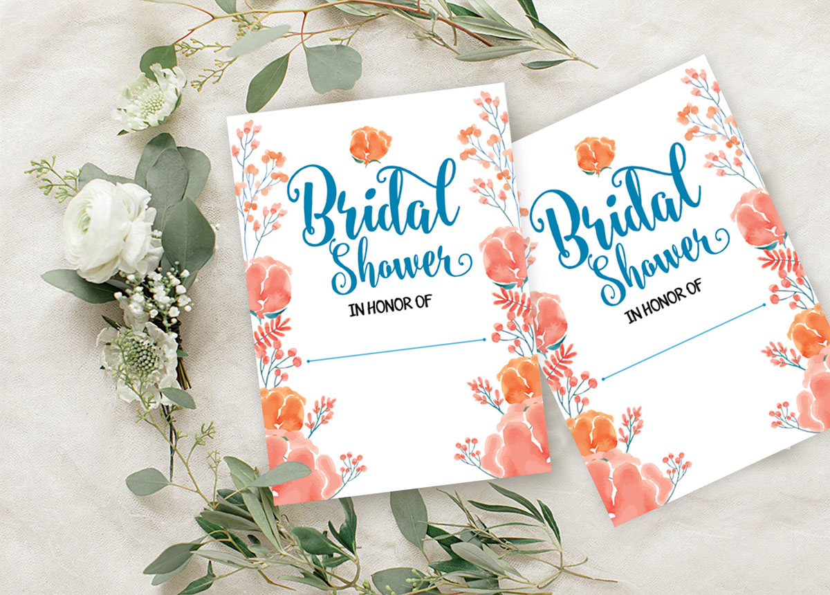 Details About Bridal Shower Invitation Card 28 Pcs Write In Blank Party Supplies Ds In392a