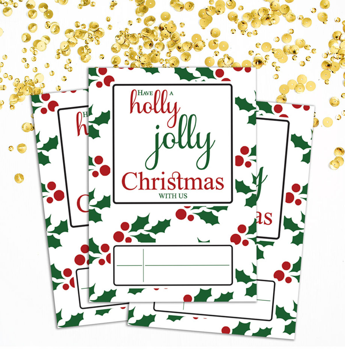Terrific Christmas Invitation Card Write In Blank Party Supplies Pack Of 28 Personalised Birthday Cards Beptaeletsinfo