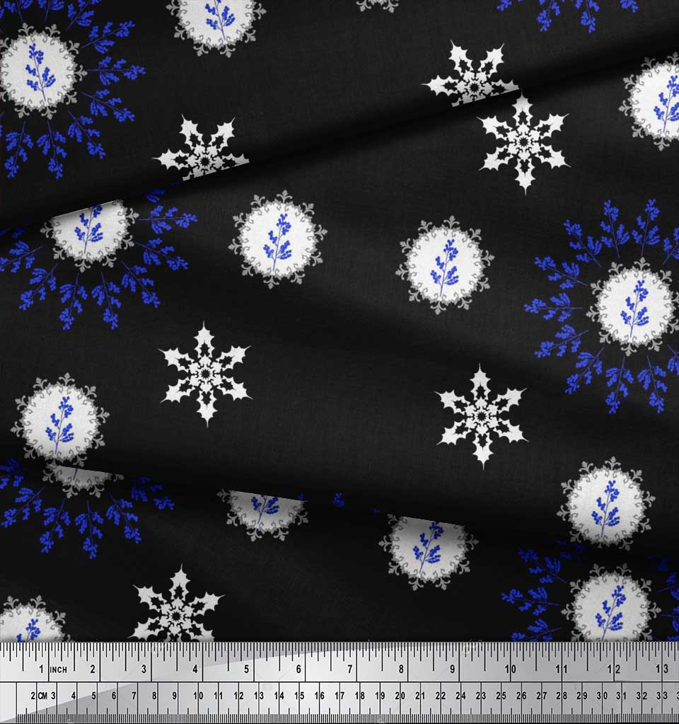 Soimoi-Fabric-Berries-amp-Damask-Decorative-Printed-Craft-Fabric-bty-DC-513A thumbnail 3