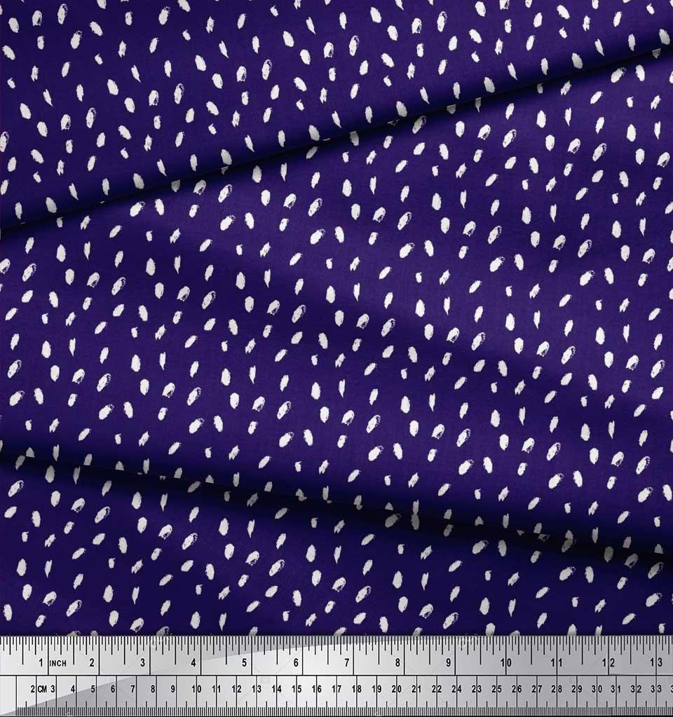 Soimoi-Cotton-Poplin-Fabric-Brush-Stroke-Abstract-Print-Fabric-by-MKa thumbnail 3