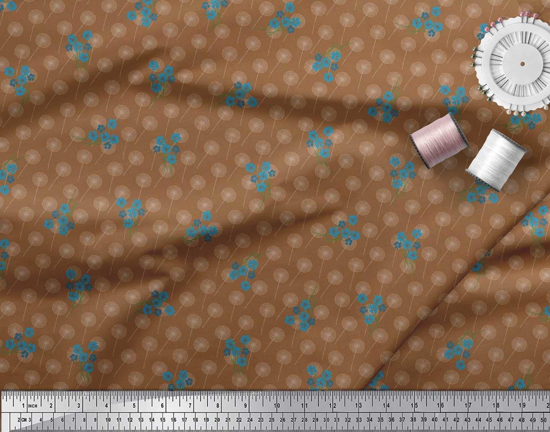 Soimoi-Cotton-Poplin-Fabric-Artistic-Floral-Fabric-Prints-By-metre-rQp thumbnail 3