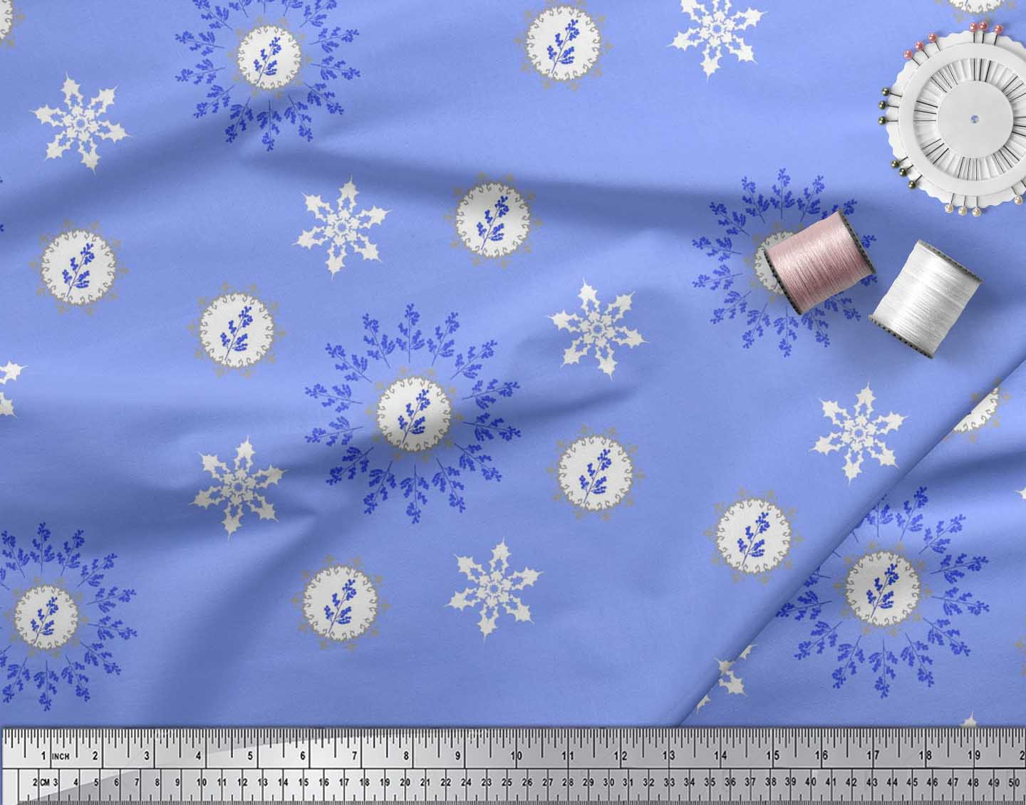 Soimoi-Fabric-Berries-amp-Damask-Decorative-Printed-Craft-Fabric-bty-DC-513A thumbnail 31