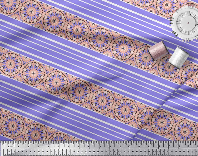 KS-514E Soimoi Tissu bande et mosaïque kaléidoscope tissu imprimé au mètre