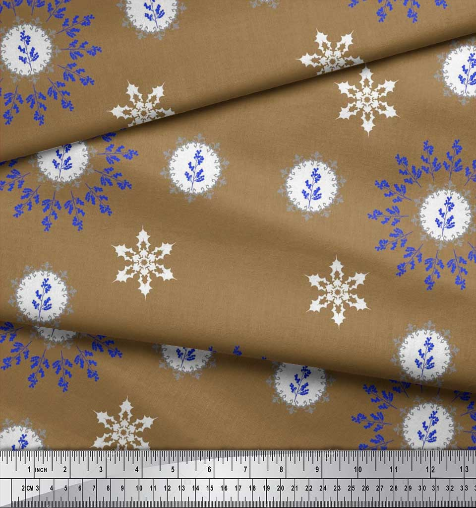 Soimoi-Fabric-Berries-amp-Damask-Decorative-Printed-Craft-Fabric-bty-DC-513A thumbnail 15