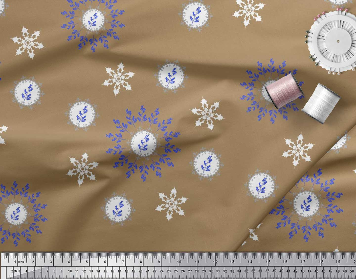 Soimoi-Fabric-Berries-amp-Damask-Decorative-Printed-Craft-Fabric-bty-DC-513A thumbnail 16