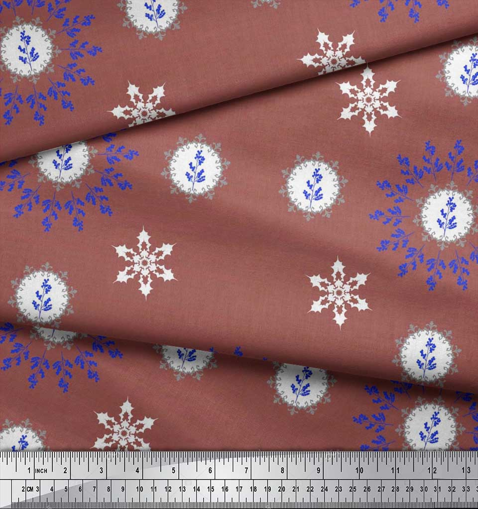 Soimoi-Fabric-Berries-amp-Damask-Decorative-Printed-Craft-Fabric-bty-DC-513A thumbnail 12