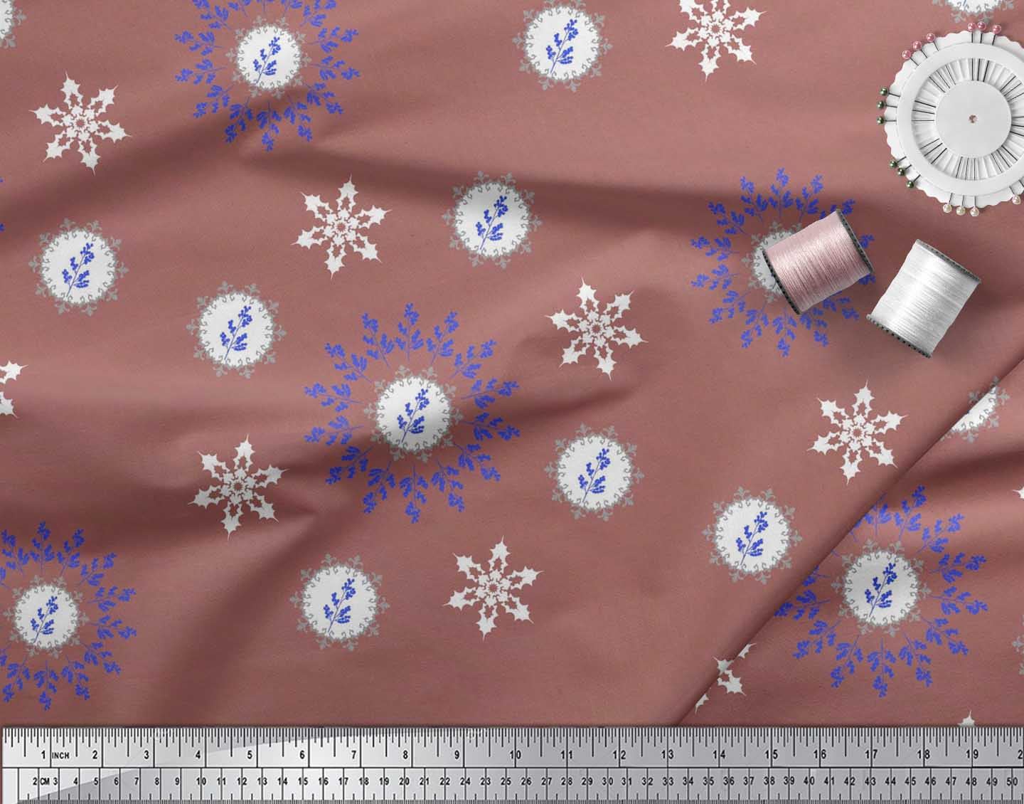 Soimoi-Fabric-Berries-amp-Damask-Decorative-Printed-Craft-Fabric-bty-DC-513A thumbnail 13