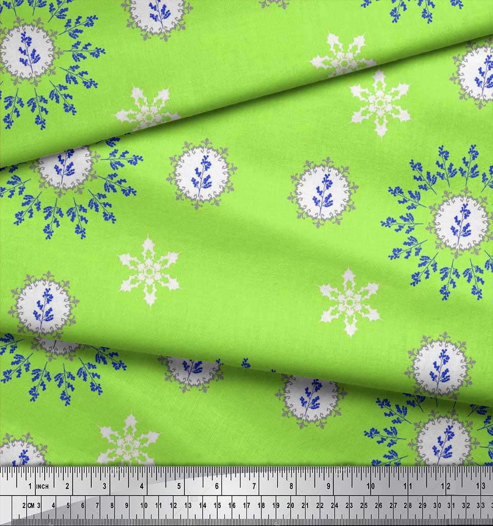 Soimoi-Fabric-Berries-amp-Damask-Decorative-Printed-Craft-Fabric-bty-DC-513A thumbnail 22