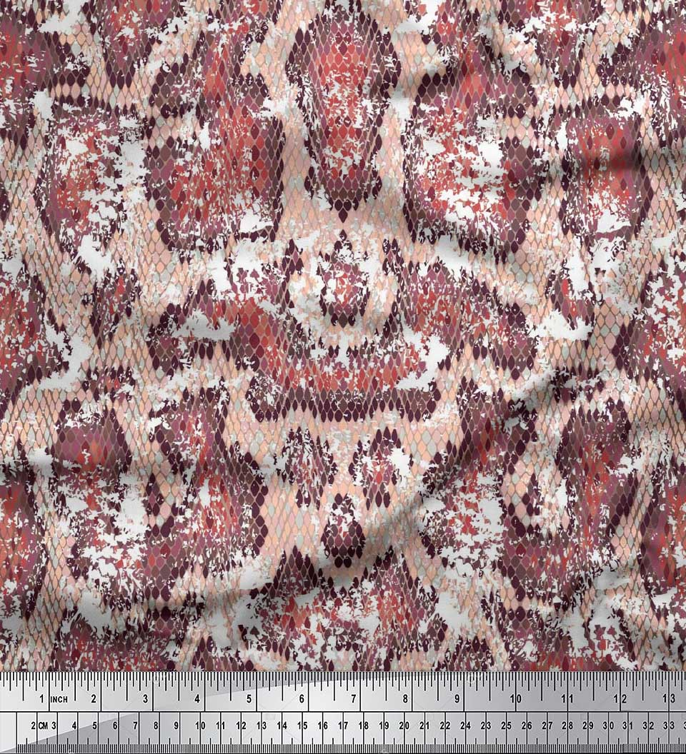 Soimoi-Cotton-Poplin-Fabric-Snake-Animal-Skin-Fabric-Prints-By-metre-rGy