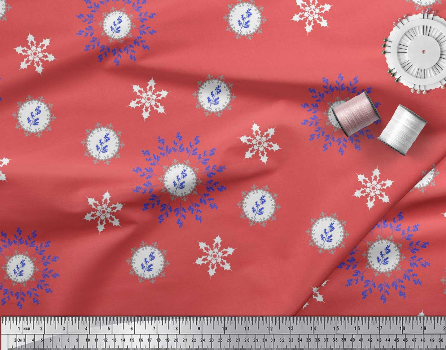 Soimoi-Fabric-Berries-amp-Damask-Decorative-Printed-Craft-Fabric-bty-DC-513A thumbnail 28