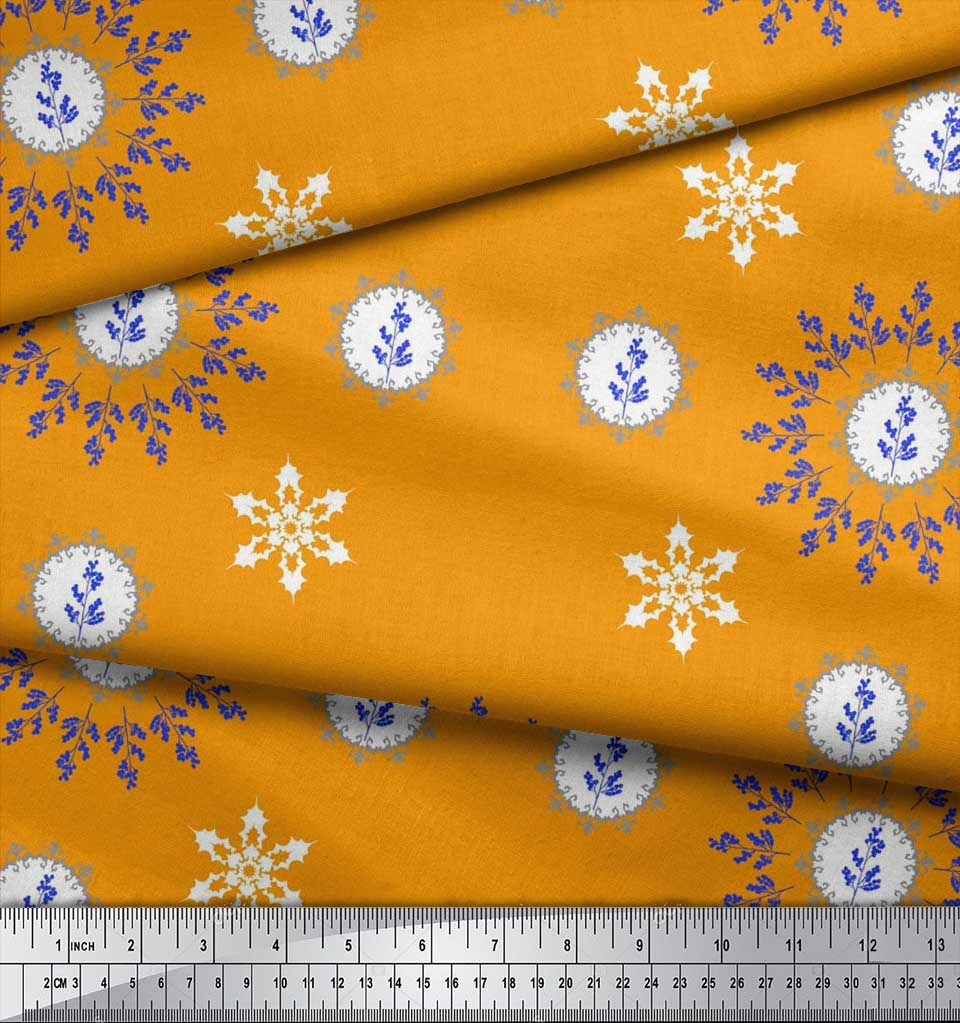 Soimoi-Fabric-Berries-amp-Damask-Decorative-Printed-Craft-Fabric-bty-DC-513A thumbnail 10