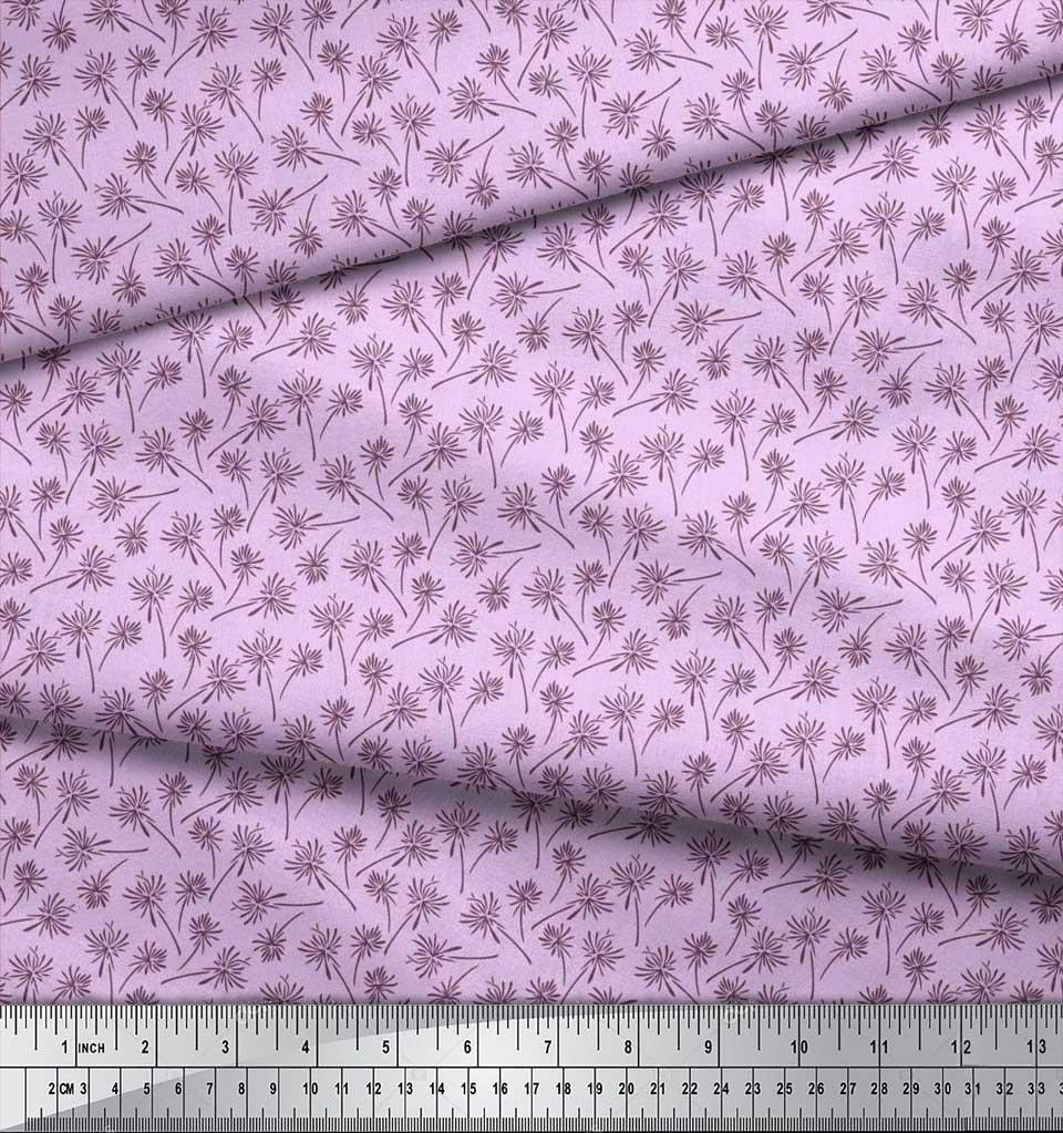 Soimoi-Cotton-Poplin-Fabric-Artistic-Floral-Printed-Craft-Fabric-1Bk thumbnail 3