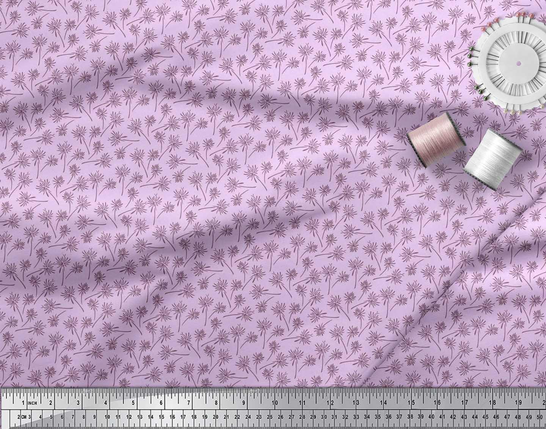 Soimoi-Cotton-Poplin-Fabric-Artistic-Floral-Printed-Craft-Fabric-1Bk thumbnail 4